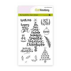 CLEARSTAMPS   CHRISTMAS