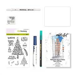 CLEAR STAMPS kit x-mas