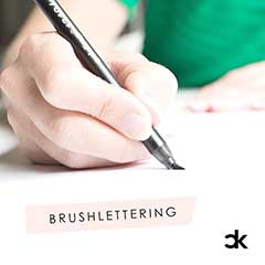 workshop brushlettering