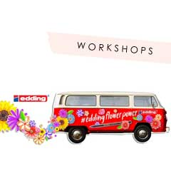 EDDING FLOWERPOWER WORKSHOPS